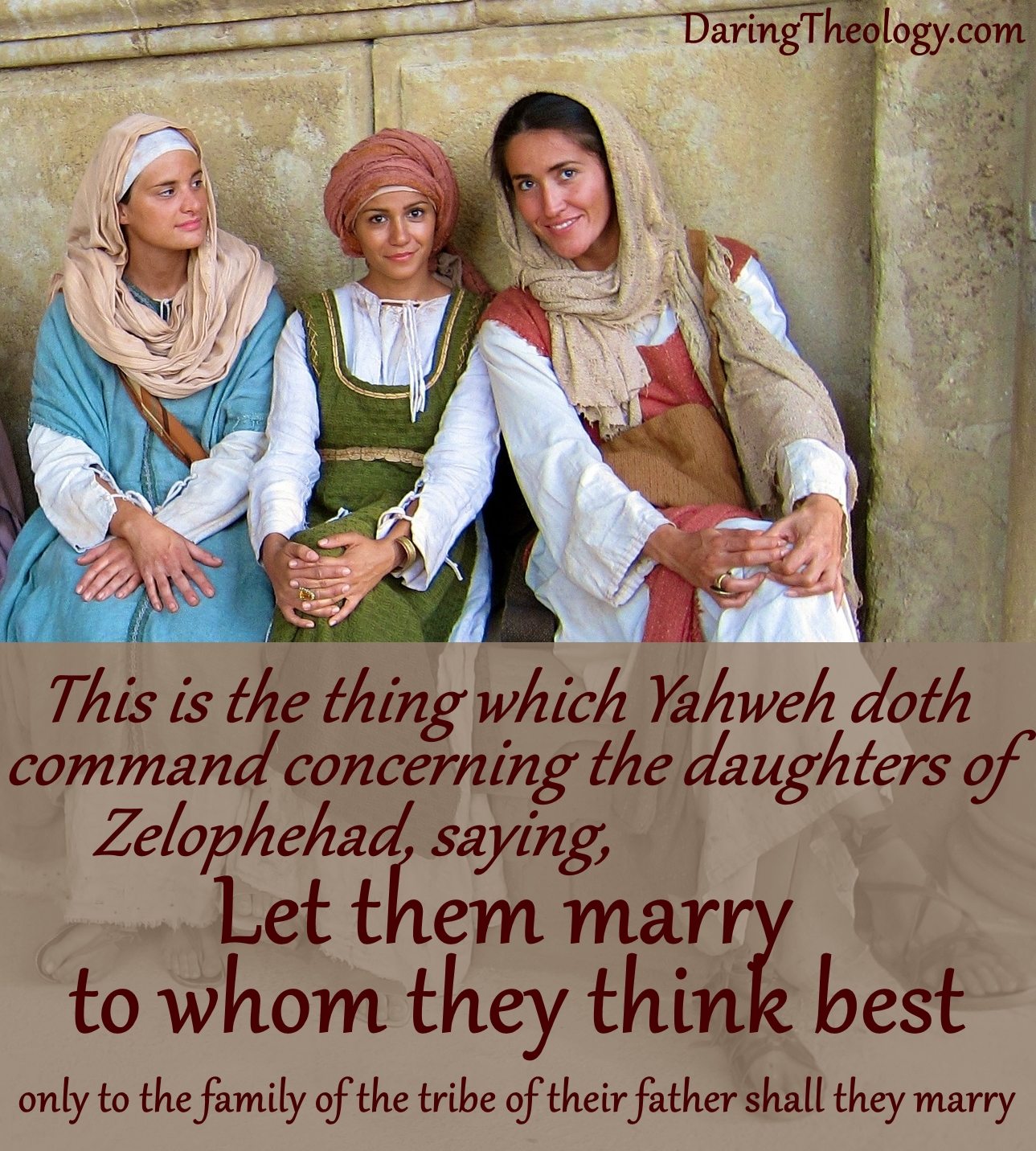 Let them marry to whom they think best